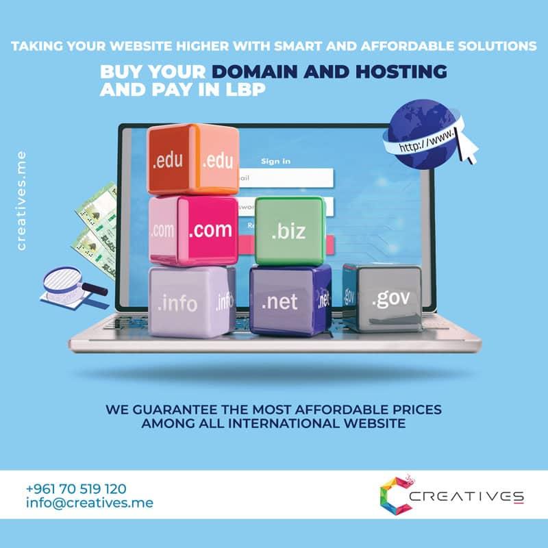 Domain hosting Lebanon LBP